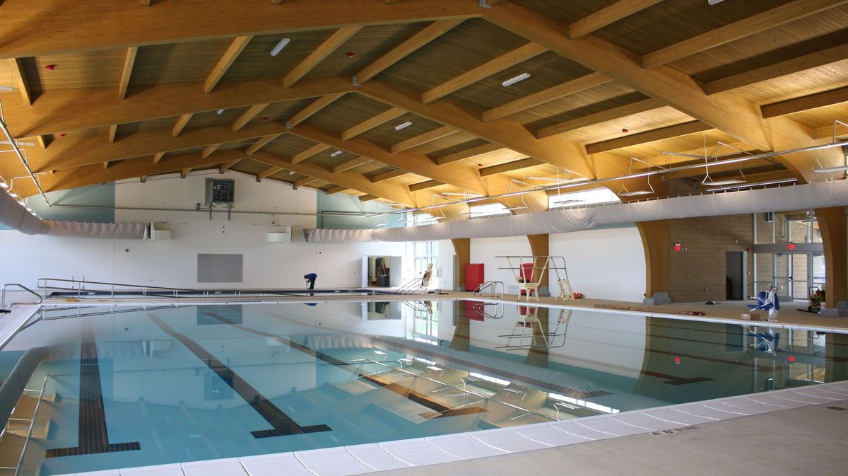 Aquatic Center Interior